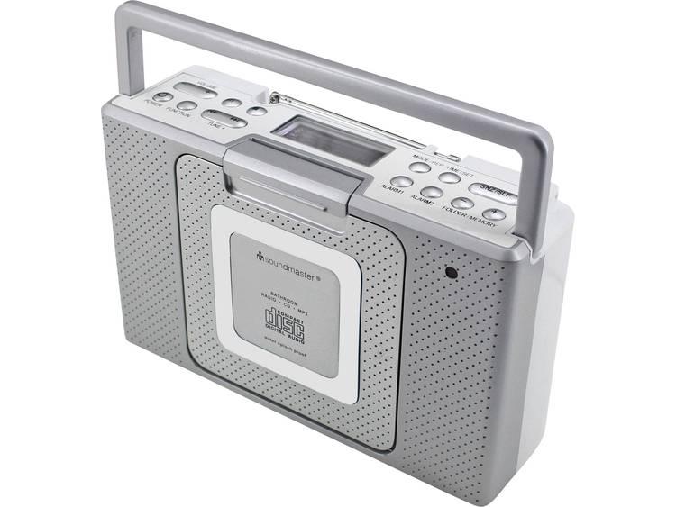 Spatwaterdichte badkamerradio BCD480
