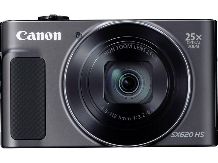 Canon PowerShot SX620HS Digitale camera 20 Mpix Zoom optisch: 25 x Zwart Full-HD video-opname, WiFi