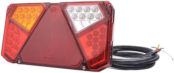 LED Aanhangerachterlicht Knipperlicht, Remlicht, Achterlicht, Reflec ...