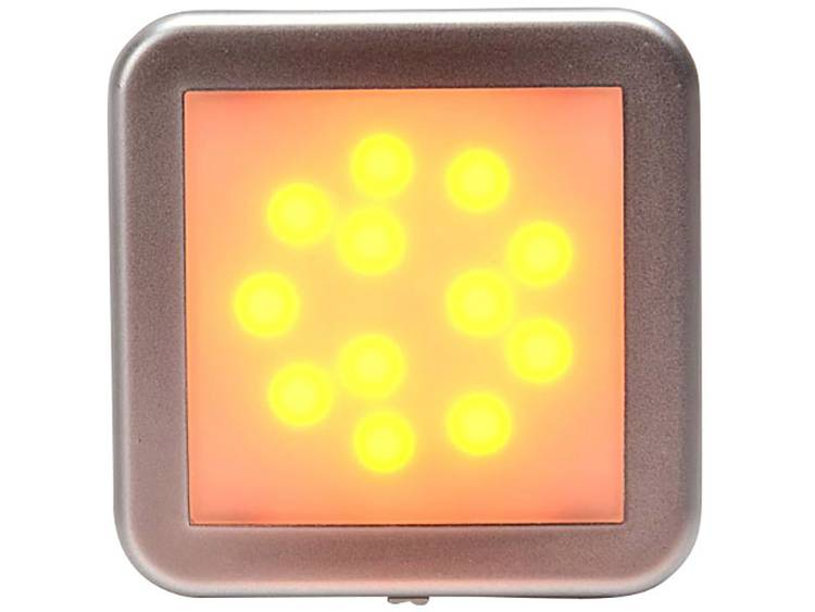 LED Markeringslicht Markeringslicht zijkant 12 V, 24 V Oranje, Zilver SecoRüt