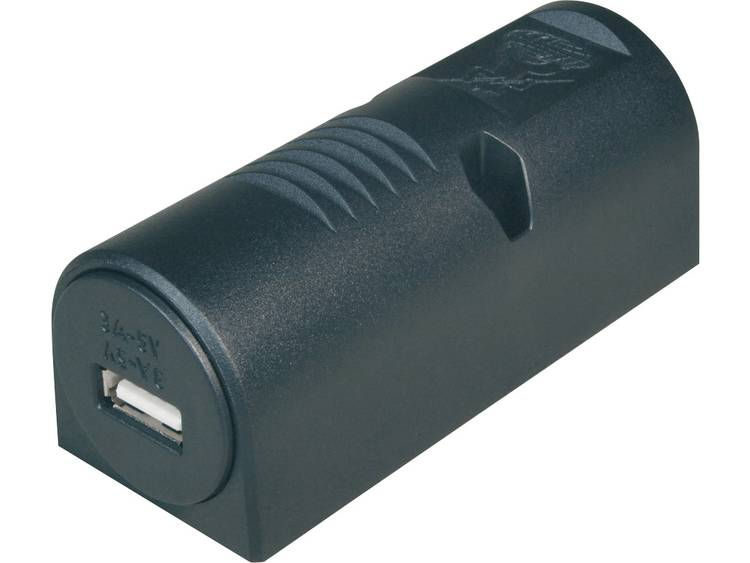 ProCar 67333501 Power USB opbouwstopcontact 3 A Stroombelasting (max.) 3 A Geschikt voor USB A