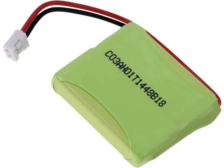 Accu voor draadloze telefoon Beltrona V30145-K1310-X382 Geschikt voor merk: Siemens, Gigaset NiMH 2.4 V 650 mAh
