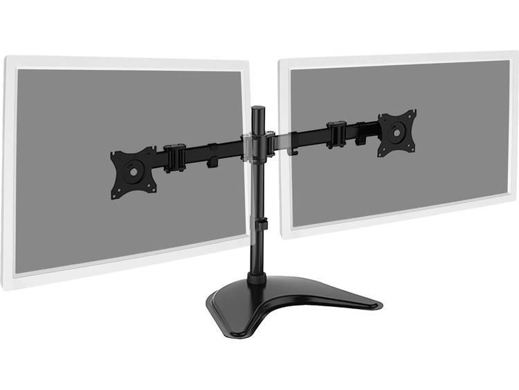 Monitor-tafelbeugel Digitus DA-90348 38,1 cm (15) - 68,6 cm (27) Kantelbaar en zwenkbaar, Roteerbaar