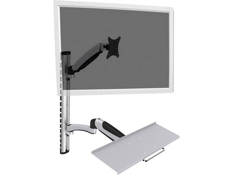 Monitor-wandbeugel Digitus DA-90354 38,1 cm (15) - 68,6 cm (27) Kantelbaar en zwenkbaar, Roteerbaar