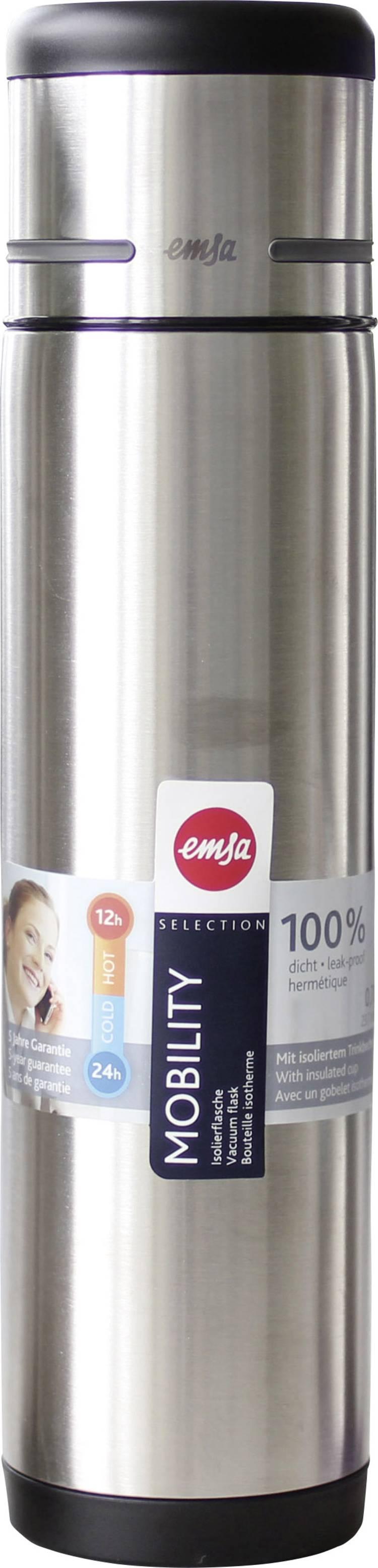 Image of Emsa-thermosfles Mobility, 0,7 liter, zwart