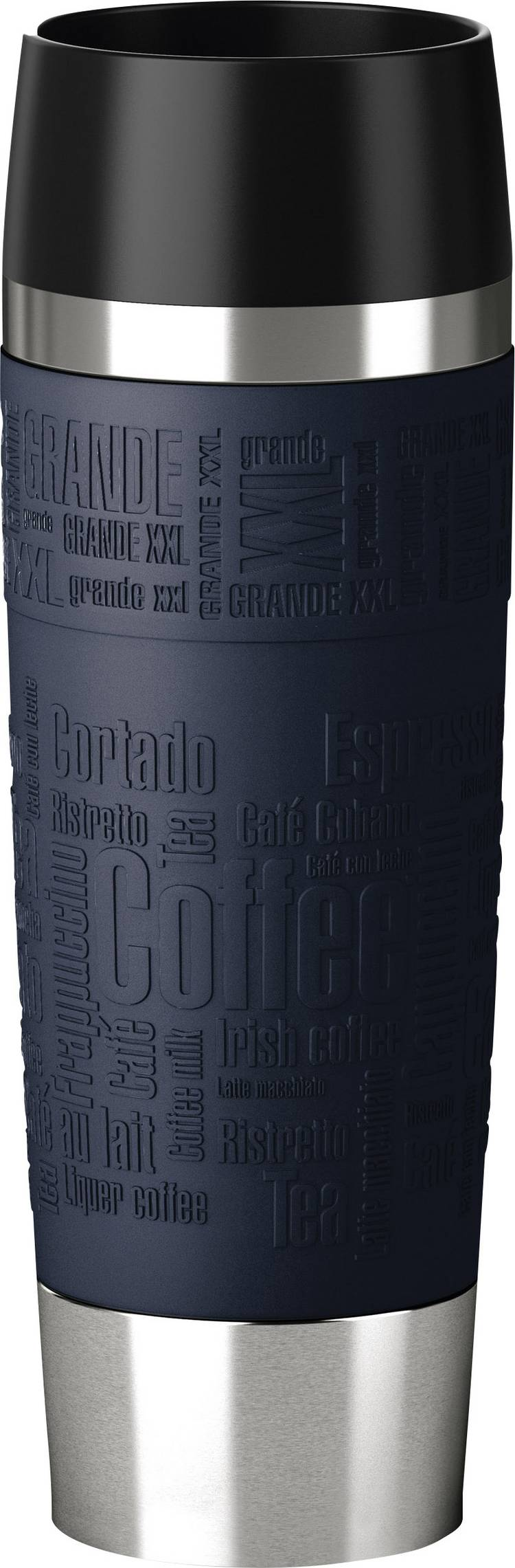 Image of Emsa-thermosbeker Travel Mug Grande, 0,5 liter, blauw