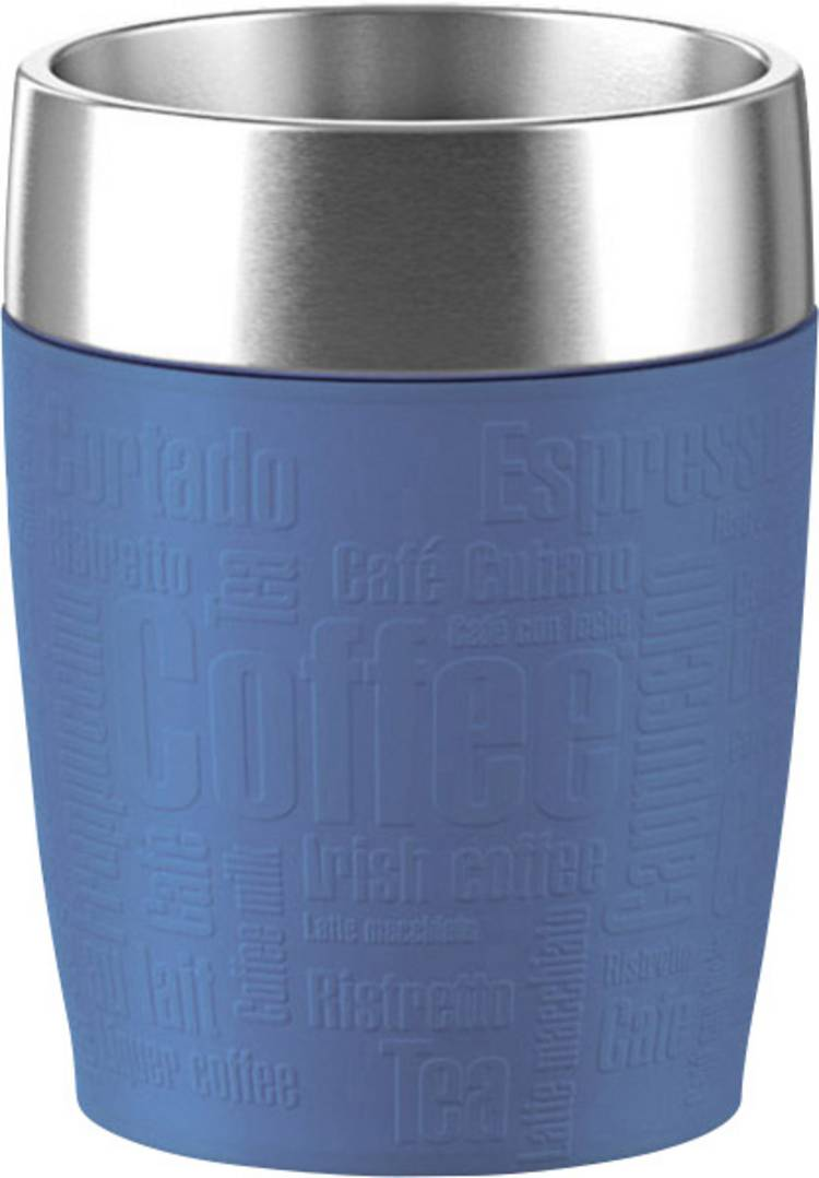 Image of Emsa-thermosbeker Travel Cup, 0,2 liter blauw