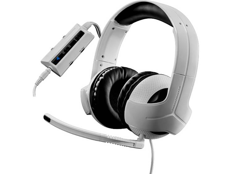 Gaming headset USB, 3.5 mm jackplug Kabelgebonden Thrustmaster Y-300CPX Over Ear Wit, Zwart