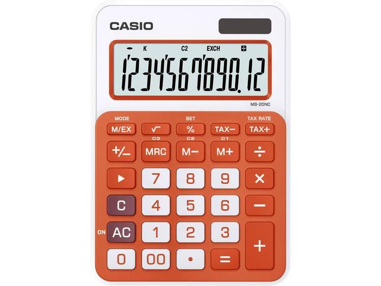 Rekenmachine Casio MS-20NC oranje