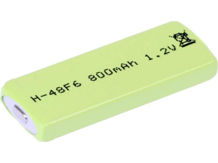 Mexcel HPE-F6-800 Speciale oplaadbare batterij Prismatisch NiMH 1.2 V 770 mAh