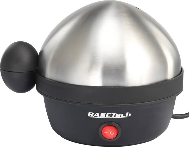 Basetech BTEK07 Eierkoker RVS. Zwart