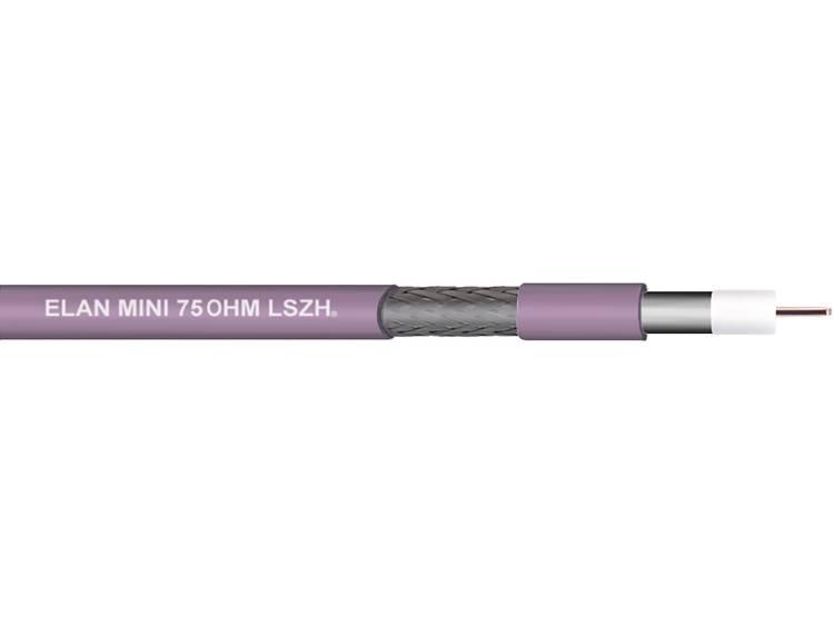 ELAN 70I135 Coaxkabel Buitendiameter: 4.8 RG179 75 ⦠Violet 10 m