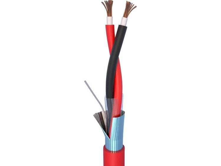 ELAN 70I144 Brandmeldkabel LSZH 2 x 1.50 mm² Rood 10 m