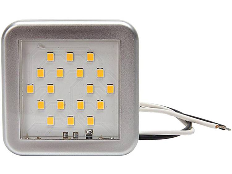 SecoRüt 90989 LED interieurverlichting 12 V LED (b x h x d) 55 x 55 x 7 mm