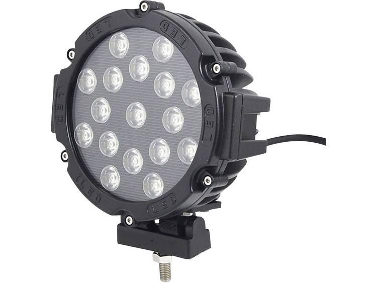 Afstandschijnwerper, Rallyschijnwerper W057351 LED SecoRüt (Ø x d) 180 mm x 88 mm Zwart