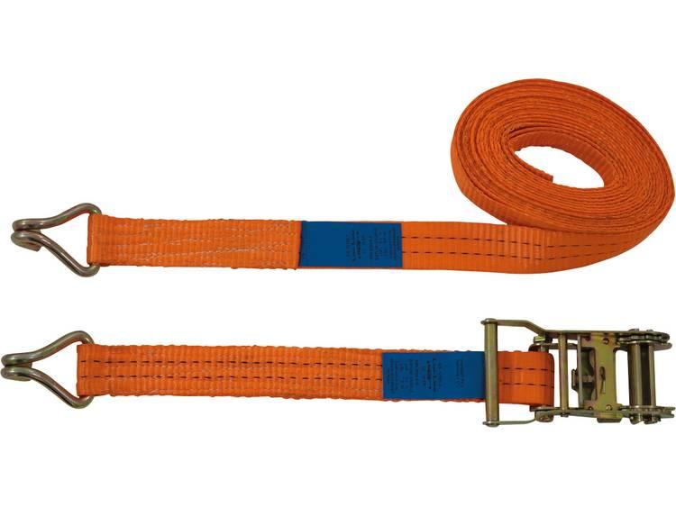 Spanband (tweedelig) Trekkracht (lc) vastbinden (enkel direct)=1000 daN (l x b) 6 m x 35 mm Petex 43192835