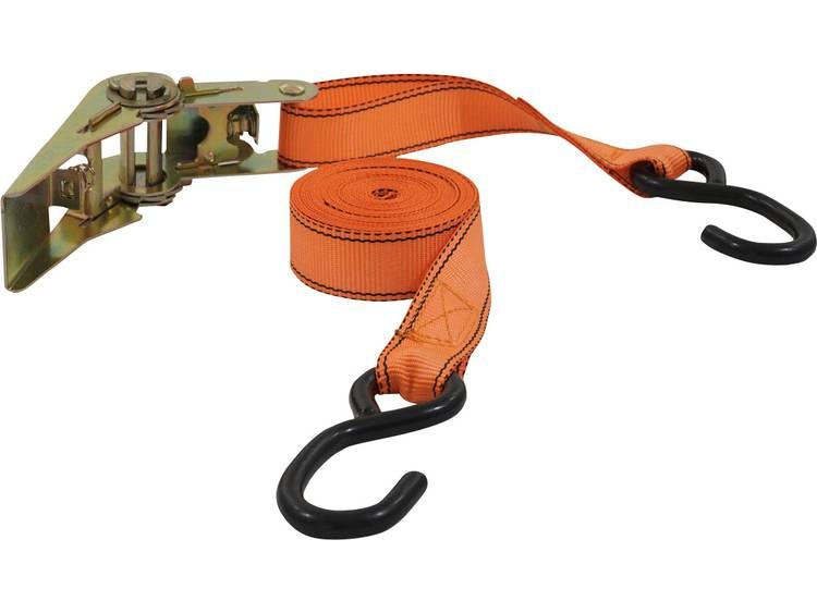 Spanband (tweedelig) Trekkracht (lc) vastbinden (enkel direct)=350 daN (l x b) 5 m x 25 mm Petex 43192735