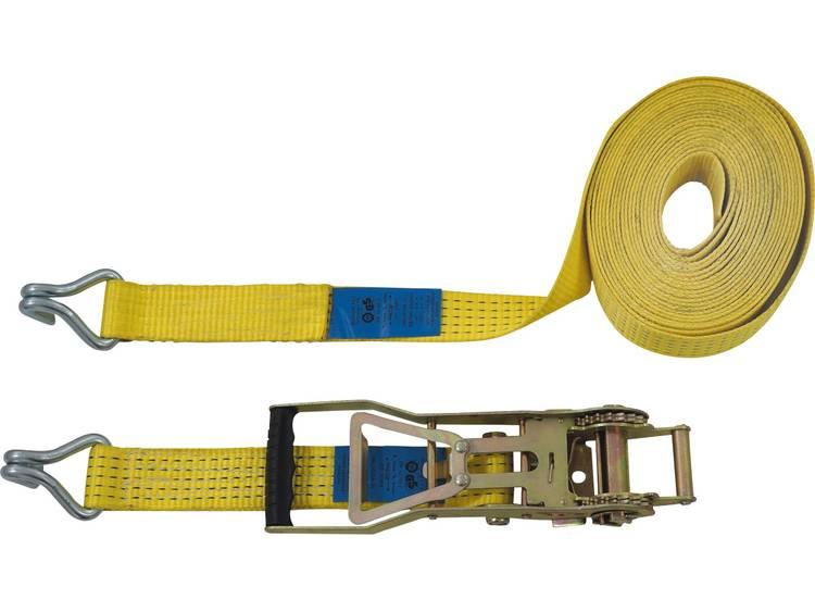 Spanband (tweedelig) Trekkracht (lc) vastbinden (enkel direct)=2500 daN (l x b) 10 m x 50 mm Petex 43193019