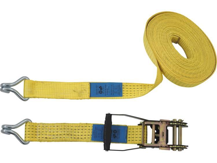 Spanband (tweedelig) Trekkracht (lc) vastbinden (enkel direct)=2500 daN (l x b) 10 m x 50 mm Petex 43192919