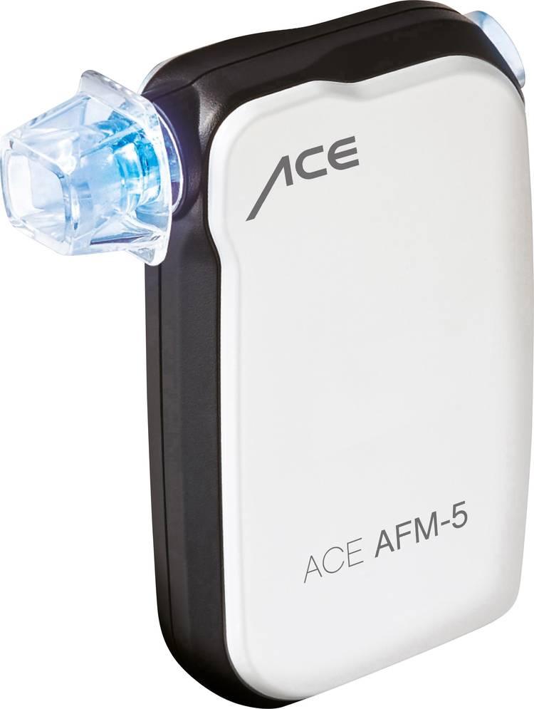 ACE AFM-5 Alcoholtester Wit 0 tot 4 ‰ Weergave via smartphone