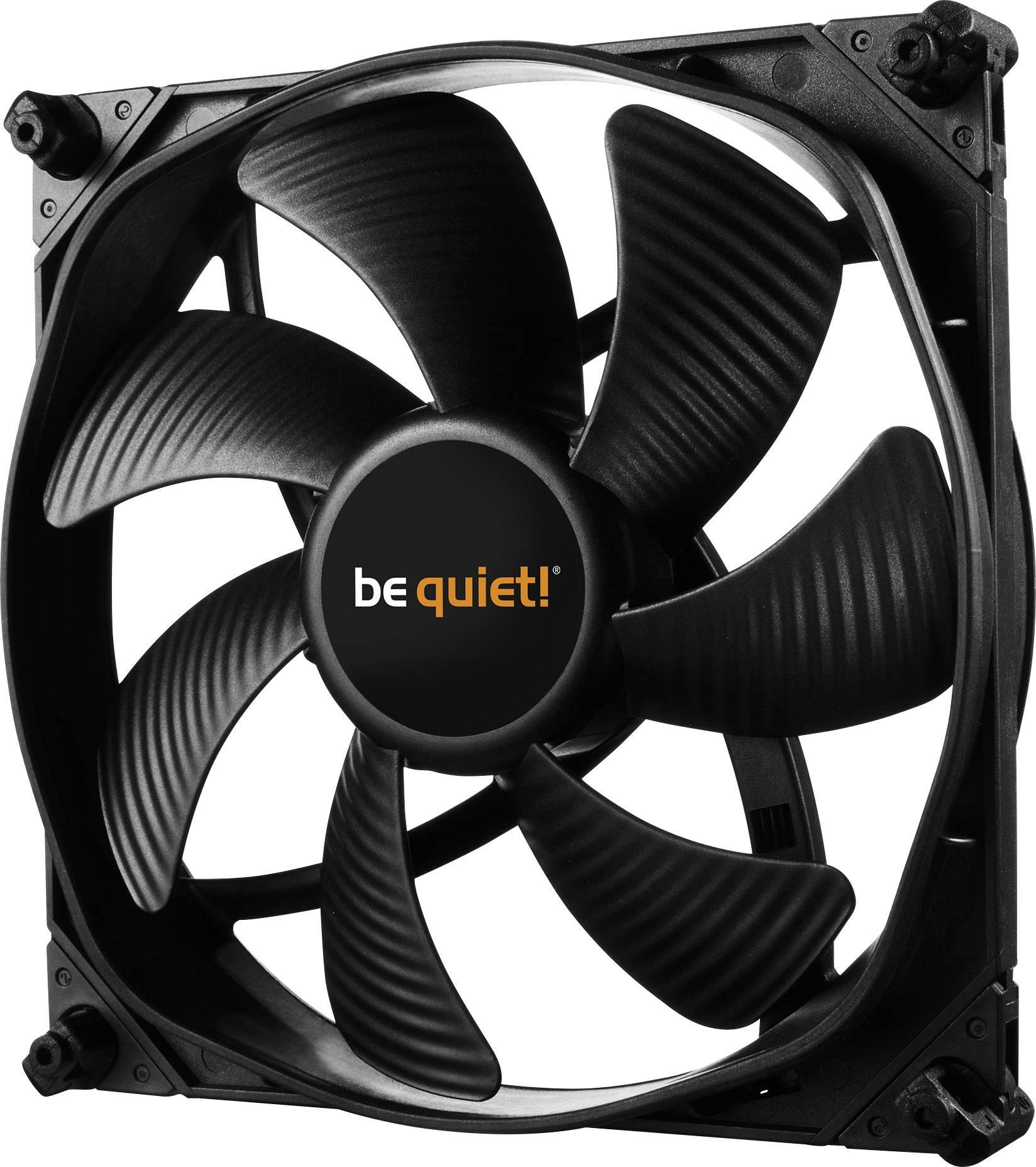 Meget BeQuiet Silent Wings 3 PWM PC-ventilator Zwart (b x h x d) 140 x DB09