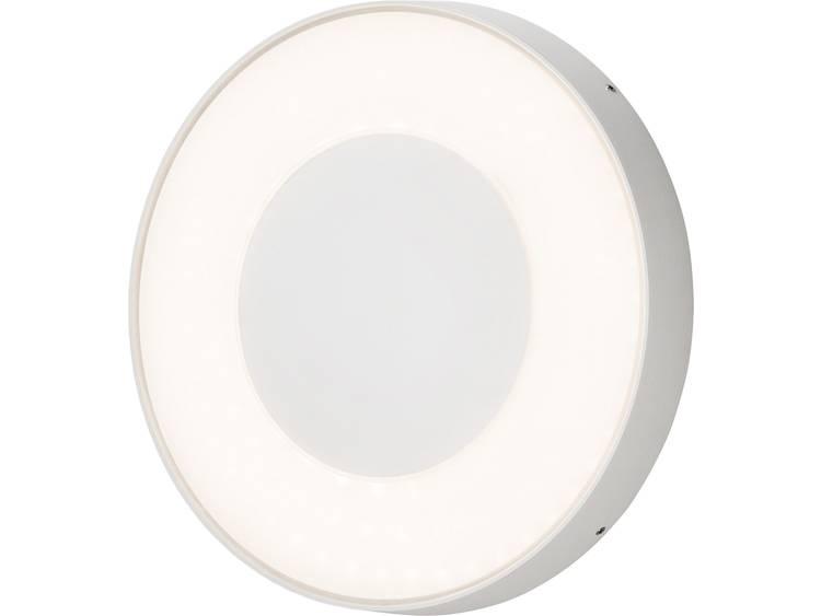 Konstsmide Carrara 7985-250 Buiten LED-wandlamp Energielabel: LED 25 W Warm-wit, Neutraal wit, Daglicht-wit Wit
