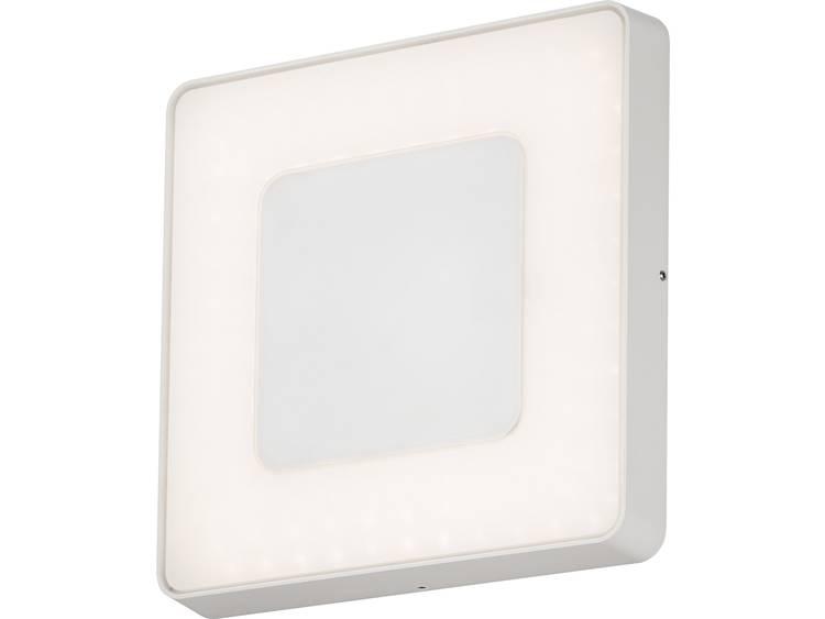 Konstsmide Carrara 7986-250 Buiten LED-wandlamp Energielabel: LED 25 W Warm-wit, Neutraal wit, Daglicht-wit Wit