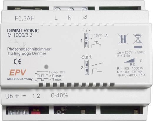 101722 DIN-rail dimmer Geschikt voor lampen: Halogeenlamp, LED ...
