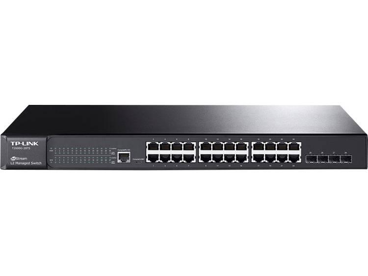 TP-LINK T2600G-28TS Netwerk switch RJ45/SFP 24 + 4 poorten 1 Gbit/s
