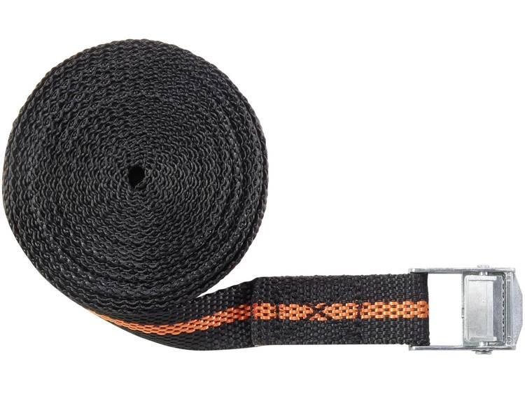 Klemband Trekkracht (lc) vastbinden (enkel direct)=125 daN (l x b) 5 m x 25 mm TOOLCRAFT 1493494