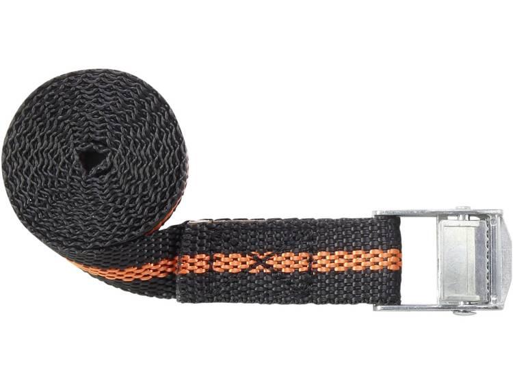 Klemband Trekkracht (lc) vastbinden (enkel direct)=125 daN (l x b) 1.5 m x 25 mm TOOLCRAFT 1493499
