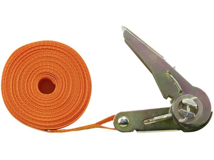 Spanband (eendelig) Trekkracht (lc) vastbinden (enkel direct)=350 daN (l x b) 6 m x 25 mm TOOLCRAFT 1493502