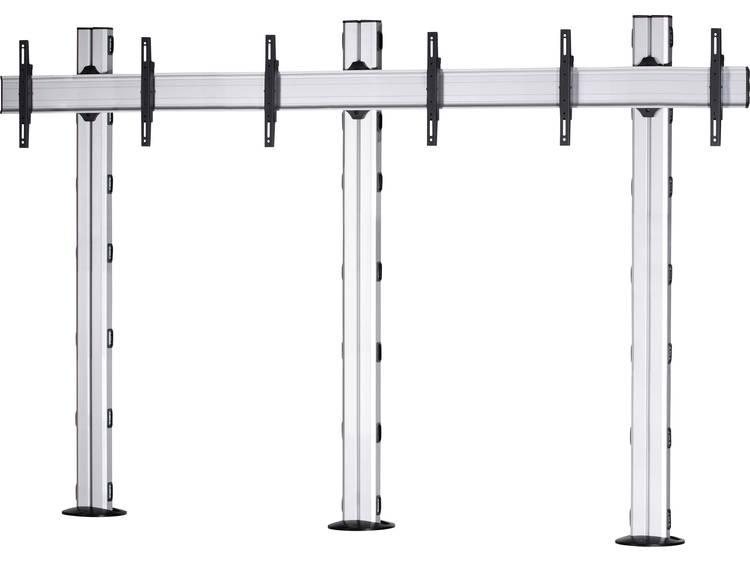 VCM Morgenthaler FIX-E-(1X3) 1x3 Videowall standvoet 106,7 cm (42) - 139,7 cm (55) In hoogte verstelbaar, Kantelbaar