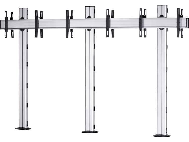 VCM Morgenthaler FIX-E-(1X3)-D 1x3: back-to-back Videowall standvoet 106,7 cm (42) - 139,7 cm (55) In hoogte verstelbaar, Kantelbaar