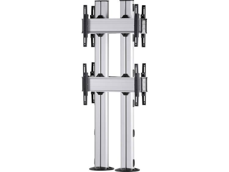 VCM Morgenthaler FIX-E-(2X1)-D 2x1: back-to-back Videowall standvoet 106,7 cm (42) - 139,7 cm (55) In hoogte verstelbaar, Kantelbaar