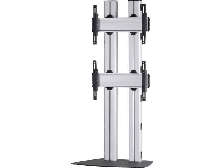 VCM Morgenthaler FLAT-E-(2X1) 2x1 Videowall standvoet 106,7 cm (42) - 139,7 cm (55) In hoogte verstelbaar, Kantelbaar