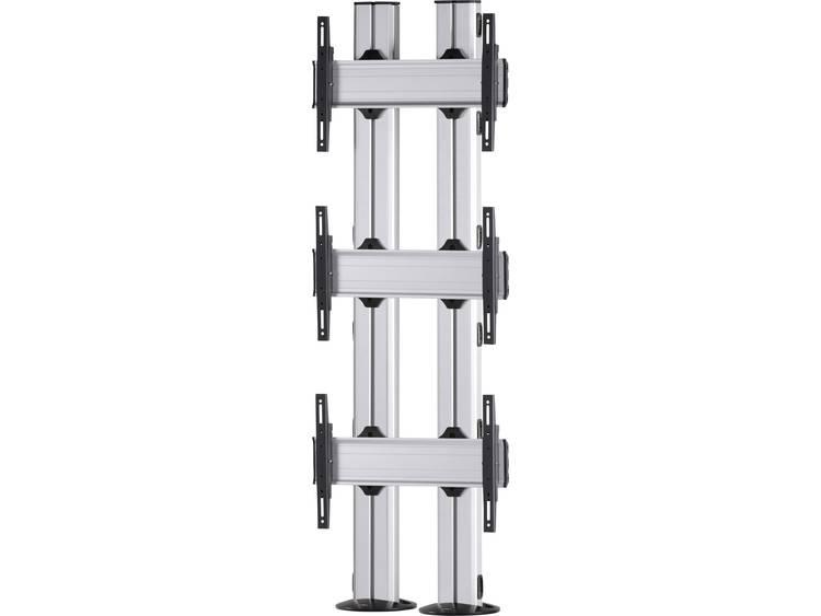 VCM Morgenthaler FIX-E-(3X1) 3x1 Videowall standvoet 106,7 cm (42) - 139,7 cm (55) In hoogte verstelbaar, Kantelbaar