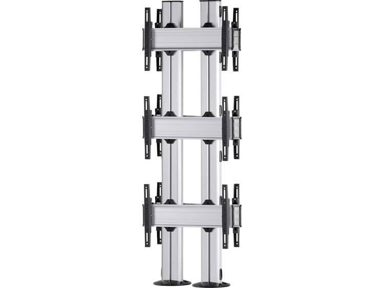 VCM Morgenthaler FIX-E-(3X1)-D 3x1: back-to-back Videowall standvoet 106,7 cm (42) - 139,7 cm (55) In hoogte verstelbaar, Kantelbaar