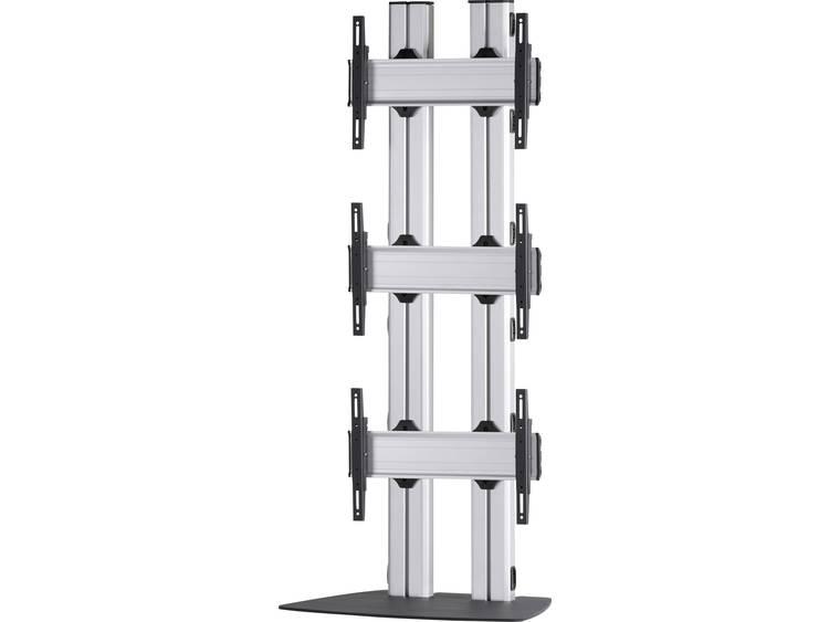 VCM Morgenthaler FLAT-E-(3X1) 3x1 Videowall standvoet 106,7 cm (42) - 139,7 cm (55) In hoogte verstelbaar, Kantelbaar