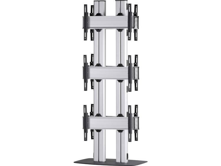 VCM Morgenthaler FLAT-E-(3X1)-D 3x1: back-to-back Videowall standvoet 106,7 cm (42) - 139,7 cm (55) In hoogte verstelbaar, Kantelbaar