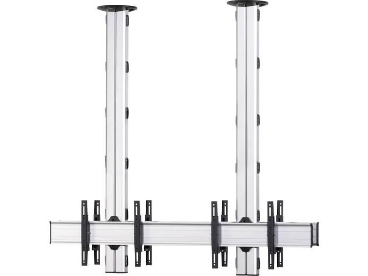 VCM Morgenthaler TA-(1X2)-D 1x2: back-to-back Videowall plafondhouder 106,7 cm (42) - 139,7 cm (55) In hoogte verstelbaar, Kantelbaar