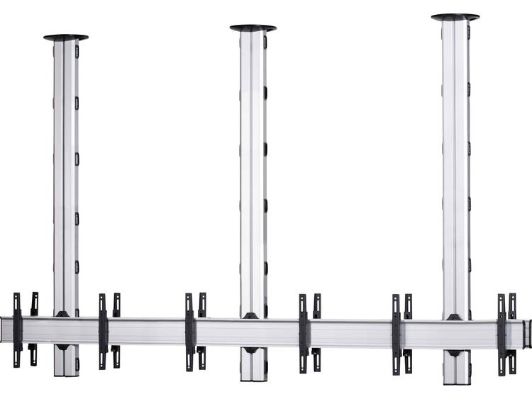 VCM Morgenthaler TA-E-(1X3)-D 1x3: back-to-back Videowall plafondhouder 106,7 cm (42) - 139,7 cm (55) In hoogte verstelbaar, Kantelbaar