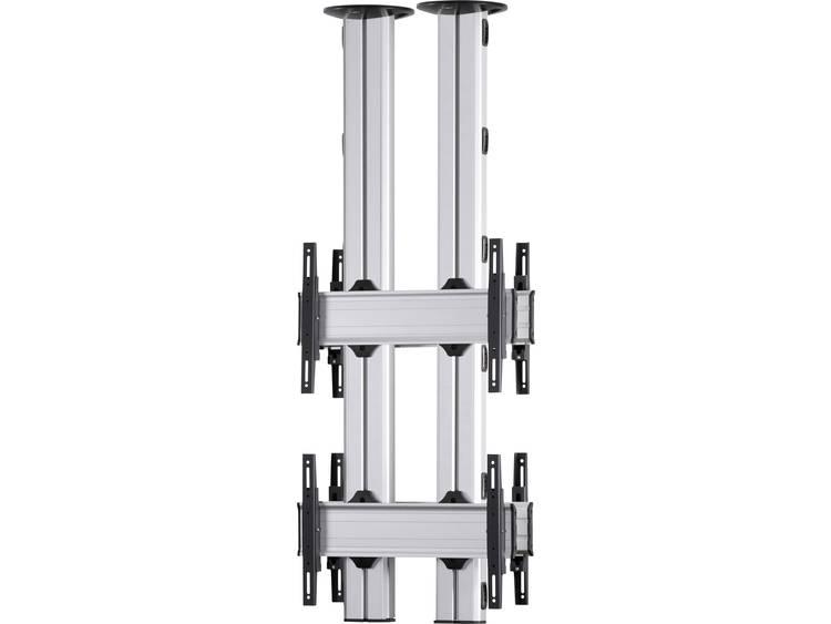 VCM Morgenthaler TA-E-(2X1)-D 2x1: back-to-back Videowall plafondhouder 106,7 cm (42) - 139,7 cm (55) In hoogte verstelbaar, Kantelbaar