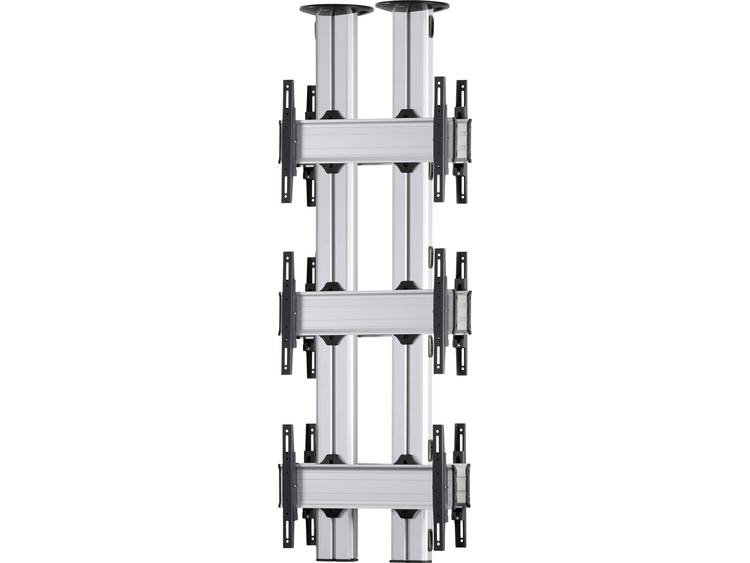 VCM Morgenthaler TA-E-(3X1)-D 3x1: back-to-back Videowall plafondhouder 106,7 cm (42) - 139,7 cm (55) In hoogte verstelbaar, Kantelbaar