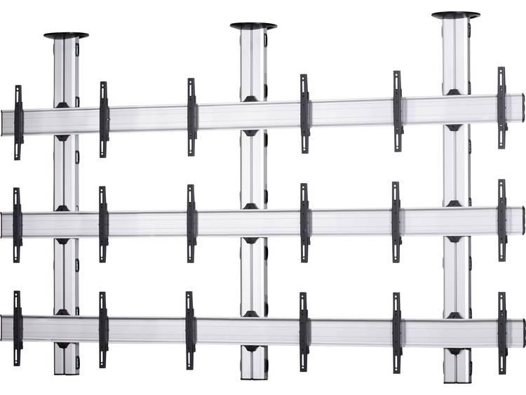 VCM Morgenthaler TA-E-(3X3) 3x3 Videowall plafondhouder 106,7 cm (42) - 139,7 cm (55) In hoogte verstelbaar, Kantelbaar