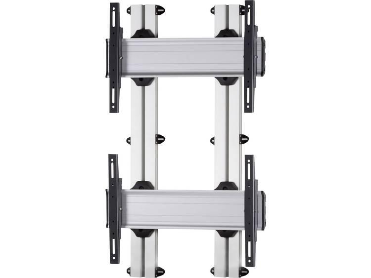 VCM Morgenthaler WALL-E-(2X1) 2x1 Videowall wandhouder 106,7 cm (42) - 139,7 cm (55) In hoogte verstelbaar, Kantelbaar