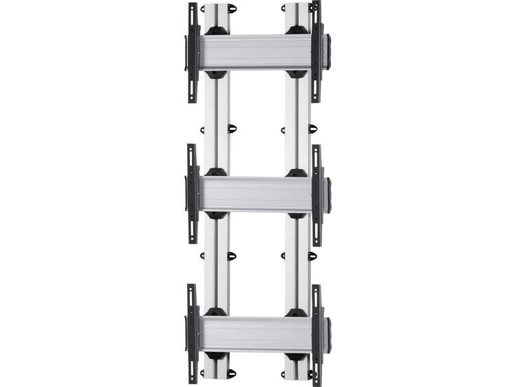 VCM Morgenthaler WALL-E-(3X1) 3x1 Videowall wandhouder 106,7 cm (42) - 139,7 cm (55) In hoogte verstelbaar, Kantelbaar