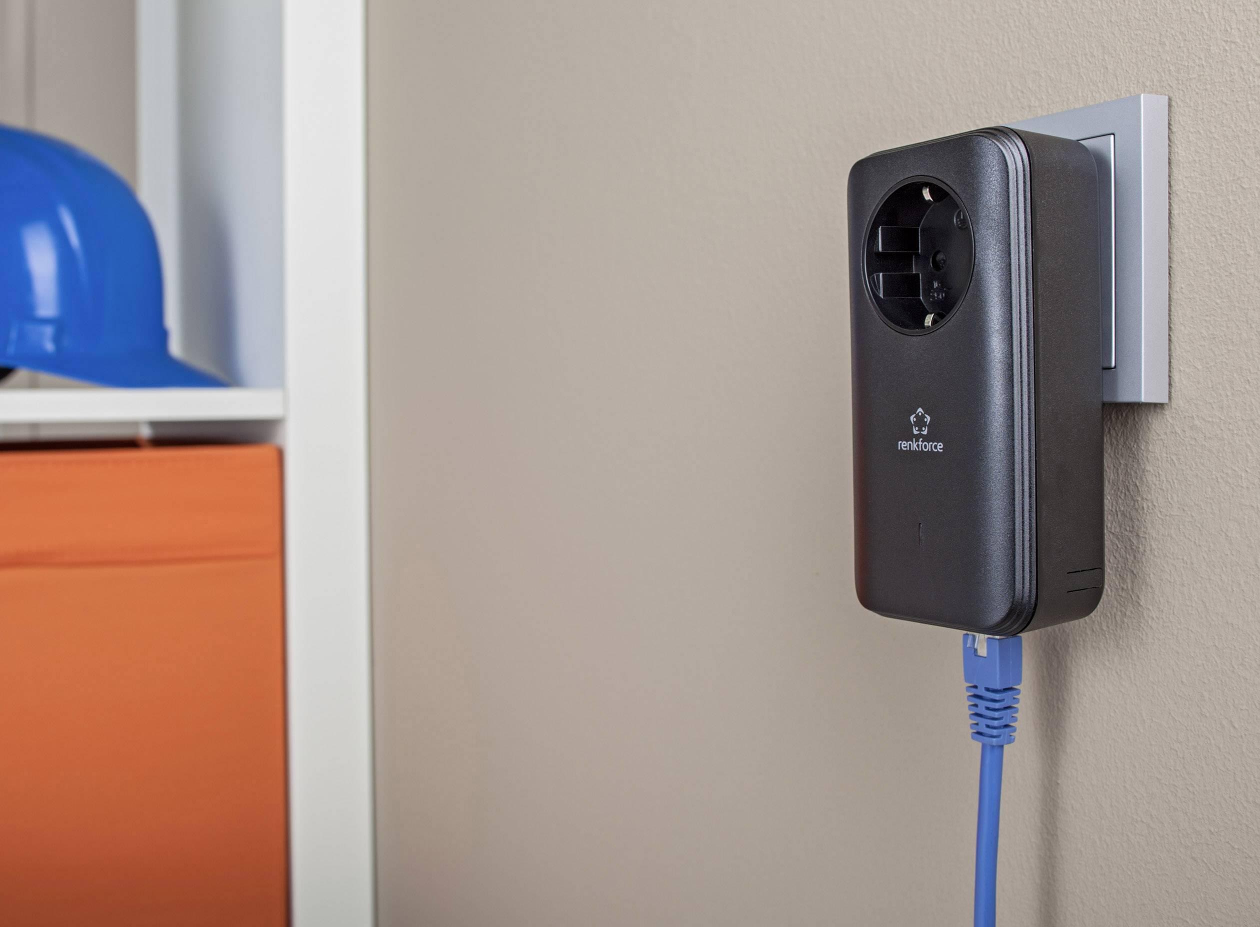 Allnet ALL1681205DOUBLE Powerline starterkit 1 2 Gbit/s