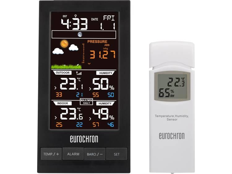 Eurochron EFWS S250 Digitaal draadloos weerstation Voorspelling voor 12 tot 24 uur