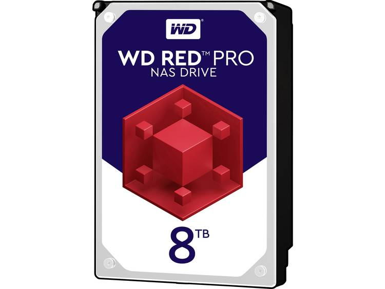 Western Digital WD8003FFBX Harde schijf (3.5 inch) 8 TB Red⢠Pro Bulk SATA III